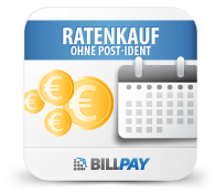 Billpay Ratenkauf-PayLater