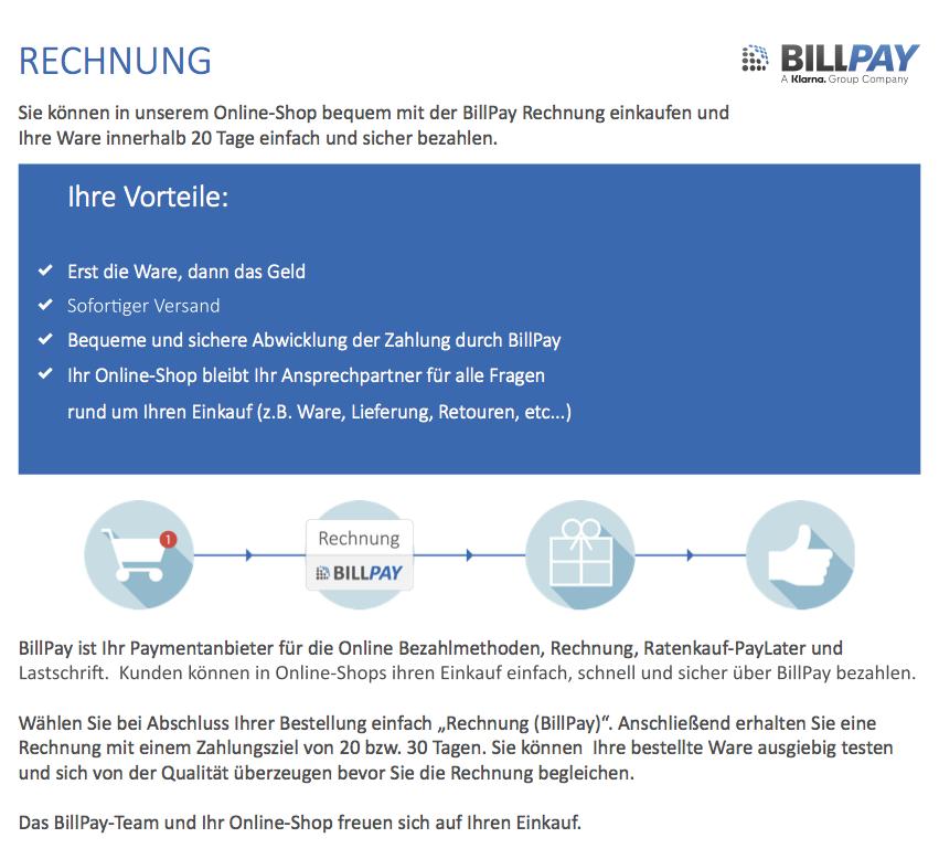 Billpay Rechnung Erfahrungen : downloads billpay ~ Themetempest.com Abrechnung